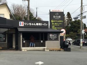 ワンちゃん専用トイレ!