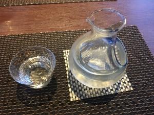 日本酒を注文