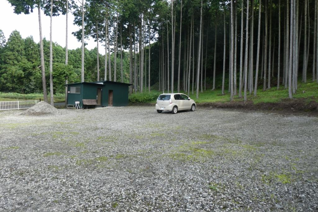 駐車場はたくさん