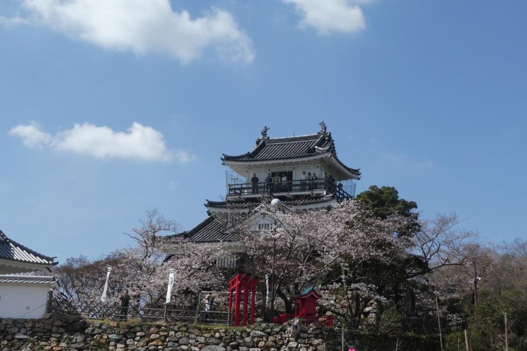 浜松城遠くから撮ったところ
