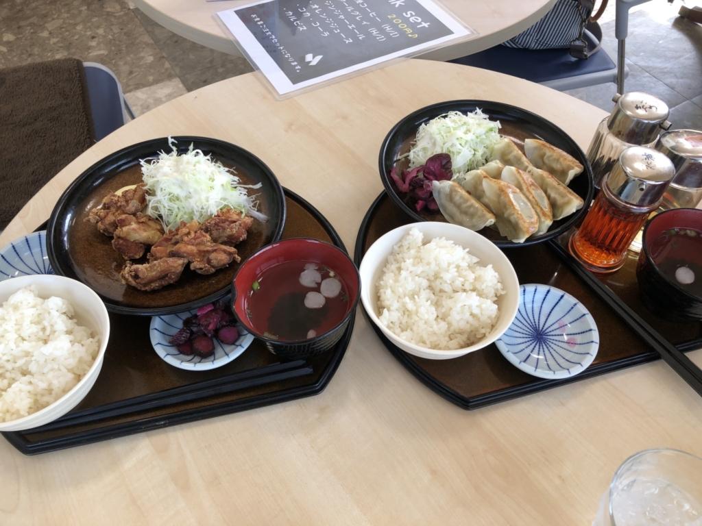 和食を注文