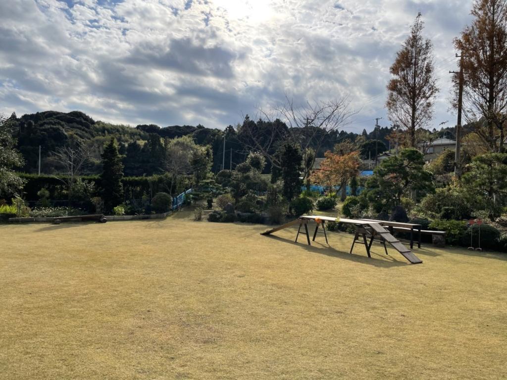 日本庭園がベースです