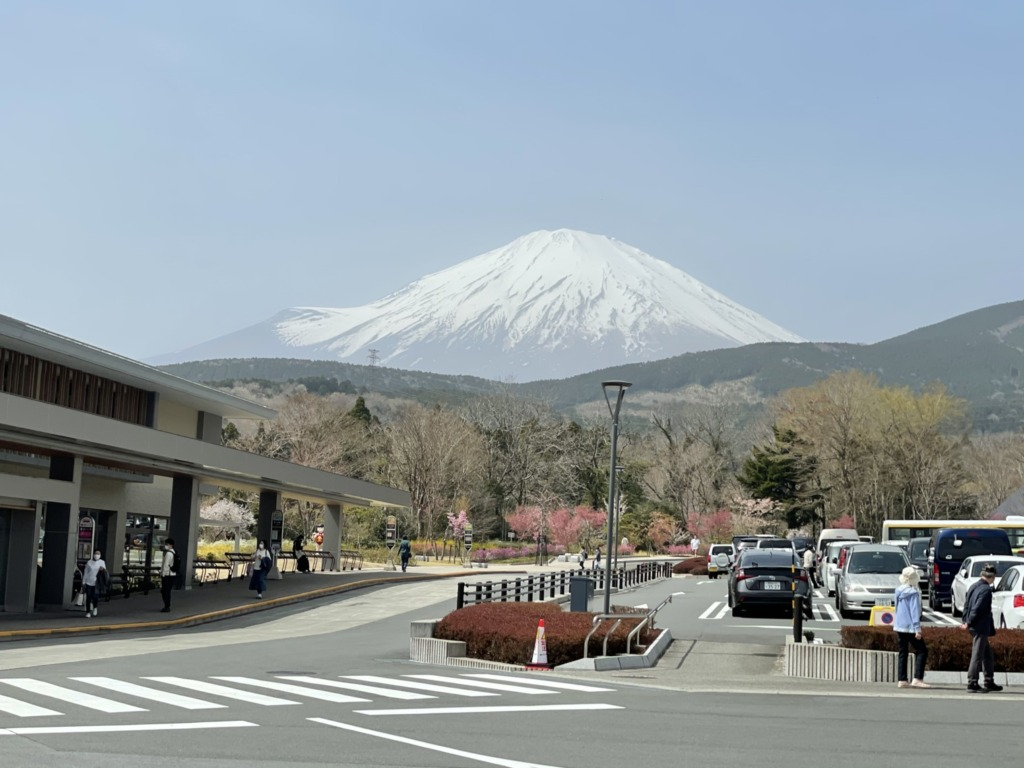 富士山さすがに大きい